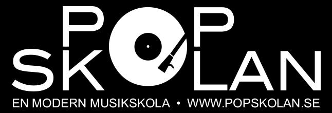 Popskolan logo